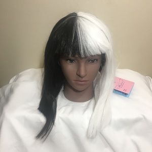 Accessories - Angelaicos Black/White Synthetic Wig